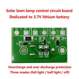 3.7V Solar String Light Lamp Board Panel Control Sensor Controller Switch Module