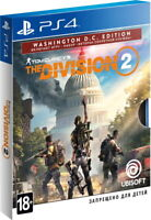 Tom Clancy's The Division 2. Washington D.C. Edition (PS4, 2019) English,Russian