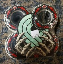 New Powell Peralta Ssf Snakes 66Mm 75A Longboard Skateboard Wheels New Set Of 4