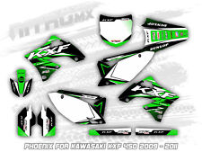NitroMX Graphic Kit for KAWASAKI KXF 450 2009 2010 2011 Motocross Decal Stickers
