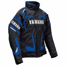 YAMAHA 4-STROKE SNOWMOBILE WINTER JACKET FXR BLU MD SMB-16J4S-BL-MD FREE STICKER