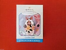HALLMARK 1998 EASTER GARDEN CLUB Bunny SERIES#4 SPRING ORNAMENT COLLECTION-NIB