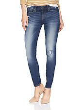 Levi's джинсы подпись золото от Levi Strauss тощий искусственно состаренные джинсы-стретч