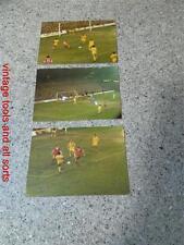 Liverpool Football Team 1980'S Original Match Photos