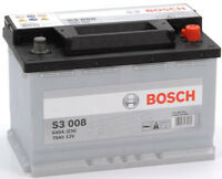 Car Battery Type 096 420/720CCA 3 Years Wty Sealed OEM Quality Bosch 12V 70Ah