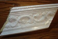 EverTrue Rococo Crown Molding Inside/Outside Corner 2 Piece White Paintable New