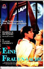 """VHS - """" Claude Chabrol`s - Eine FRAUENSACHE """" (1988) - Isabelle Huppert"""