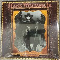 Hank Williams Jr Lone Wolf 10 Track Vinyl Album Still Sealed