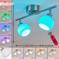 LED RGB Farbwechsler Decken Leuchten Wohn Schlaf Bade Flur Zimmer Fernbedienung