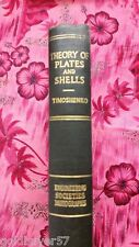 Theory of Plates and Shells Timoshenko 1ST Edition 1940 6th impression