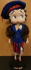 """New ListingBetty Boop Wardrobe Collection """"Betty Sets Sail"""" 12"""" Doll w/ Accessories & Stand"""