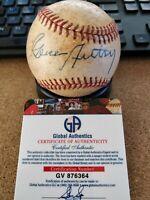 Gene Autry Signed MLB Game Baseball - Global Authentics