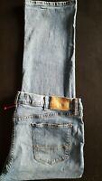 TOMMY HILFIGER Men Classic Straight Leg Fit Premium Cotton Denim Jeans - 42x32