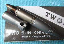 TwoSun EDC Titanium Alloy Tactical Office  Student Pocket Pen TS-Pen07-Color
