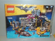 LEGO® Batman Movie Bauanleitung 70909 Bathöhle Einbruch instruction Neu B412