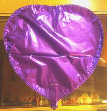 "Gran día de San Valentín Corazón Púrpura San Valentín Boda Choc Aluminio Globo De Helio 18"""