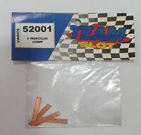 Trencillas cobre 4 unidades Team Slot 52001