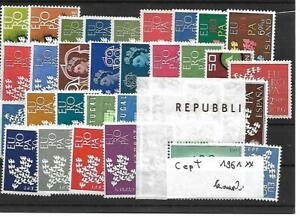 Europa Cept Jahrgang 1961 postfrisch komplett