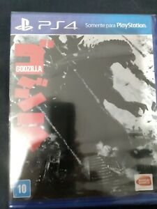 Godzilla (PlayStation 4, 2015) PS4 Brand New factory sealed