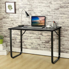 Home Office Student Desk Computer PC Writing Table Workstation Metal Legs