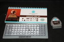 Seasonal Cake Art Martha Stewart Cricut cartridge LINKED booklet overlay NO BOX