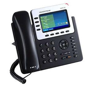 "Grandstream Enterprise IP Phone GS-GXP2140 (4.3"" Color Display, POE) VOIP Phone"
