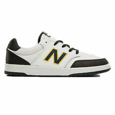 New Balance Men's All Coasts 425 Low Top Sneaker Shoes Gray with Navy Footwea...