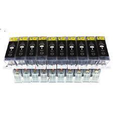 10Schwarz für Canon PIXMA IP4850IP4950 MG5150 MG5250 MG5350 MG6150 MX715 MX885 B