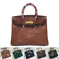 Details about  /fashion REAL LEATHER lady classic bag handbag #e814