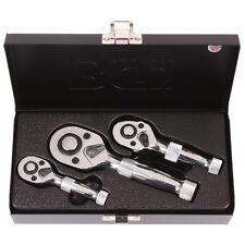 BGS 215 Mini Umschaltknarren Kfz Schlüssel 1/4 3/8 1/2 Werkzeug Ratsche Knarre
