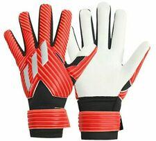 Adidas Men GK NMZ Training Goalkeeper Gloves Red Football GYM Goalie DY2589 Sz 8