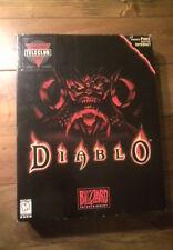 DIABLO I, BIG BOX EDITION. EXTRA RARE!! (PC,1993)