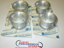 Dragrace Mikuni RS flacher genuine bellmouths. set 4