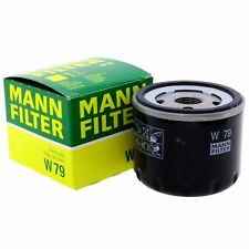 MANN Ölfilter Fahrzeugfilter W79 Filter Dacia Nissan Opel Renault Suzuki