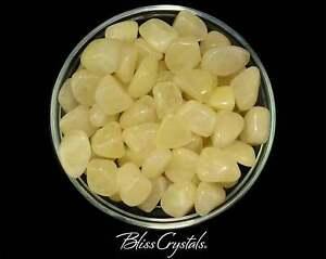1 Sulphur Quartz Tumbled Stone Grade A aka Sulfur Alchemy Shaman Stone #SQ00