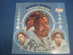 RECORD ALBUM BARRY WHITE CAN'T GET ENOUGH 4981