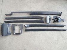 SET CARBON Dekorleisten Verkleidungen Audi A4 S4 B6 B7 8E Zierleisten Schalter
