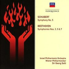Beethoven / Georg So - Beethoven: Symphonies 3 5 & 7 / Schubert: Symphony [New C