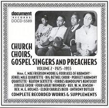 NEW Church Choirs Gospel Singers & Preachers (Audio CD)
