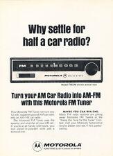 1974 Motorola FM Tuner Radio - Classic Car Advertisement Print Ad J87
