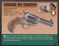CIMARRON NEW THUNDERER .45 Colt Revolver Hand Gun Classic Firearms ATLAS CARD