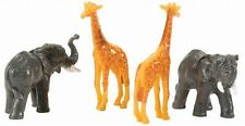 2010 Lionel 21609 Circus Animals 2 Elephants and 2 GIRAFFES new in the pack