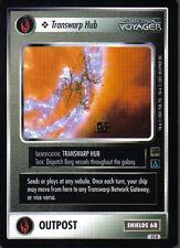 STAR TREK CCG HOLODECK RARE CARD TRANSWARP HUB
