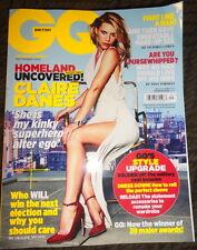 UK GQ 9/2012 Claire Danes Homeland Ewan McGregor Rita Ora Alexander Skarsgard