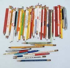 Vintage Advertising Pencils Pens Lot 1950s – 90s Meat Coal Funeral Ritepoint