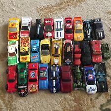 Hot Wheels & Other Brands Lot of 28 Diecast Automobiles Mattel Maisto undated