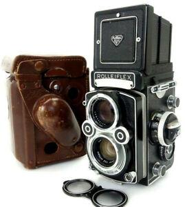 Rolleiflex 3,5F 2268767 Zeiss Planar 75mm f3,5 Heidosmat 75mm f2,8 jn068