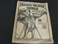JUNE 22 1918 MOVING PICTURE WORLD BESSIE BARRISCALE, CRANE WILBUR-Magazine. RARE