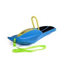 Ferbedo Kinderschlitten Snooop Carver blau Carving Schlitten mit Haltegriff