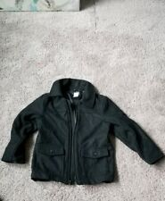 GYMBOREE Boys Black Dress Coat  (Small 5-6 Years)
